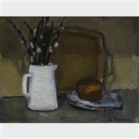 pussy willow and bun by william goodridge roberts