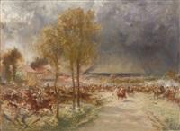 scène de bataille by fernand cormon