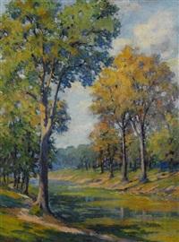 autumn landscape by pauline palmer
