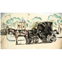 the hansom cab by agenor asteriadis