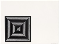angriff (from conspiracy: the artist as witness) by frank stella