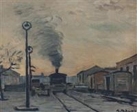estación de tren by alceu ribeiro