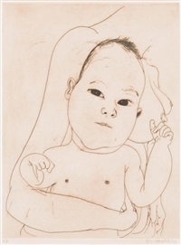 mother and child by brett whiteley