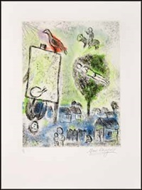 inspiration by marc chagall