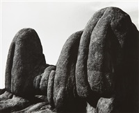 natural forms, granite dells, arizona by aaron siskind