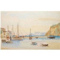 an island port by agenor asteriadis