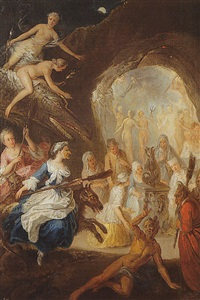 scène de sorcellerie by jean-baptiste coulom