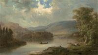 landscape in scotland by robert scott duncanson