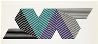 empress of india i (from v series) by frank stella
