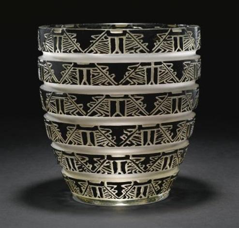 lagamar vase by rené lalique