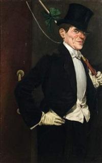 monsieur loyal, portrait de max dearly by paul accart