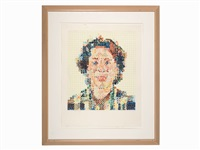 leslie by chuck close