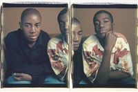 toussaint and terrel (diptych) by dawoud bey