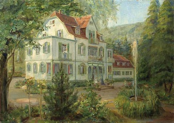 Landhaus im Grünen von Helene Funke auf artnet