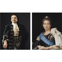 peter the great (+ catherine the great; 2 works) by vladislav mamyshev-monroe