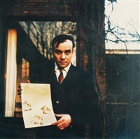 portrait d'yves klein by harry shunk