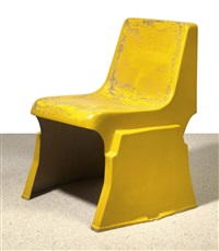 prototype of a stacking chair by gunther domenig