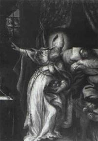 the charity of saint nicholas of bari by giovanni andrea ansaldo