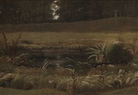 landskap (study) by knud andreassen baade