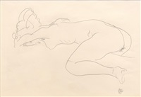 untitled by egon schiele