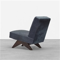 lounge chair from punjab university, chandigarh by pierre jeanneret