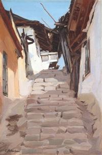 scări la balcic by constantin artachino