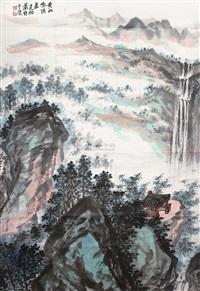 山水 by xiao jianchu