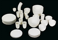 b-set-dinnerservice (set of 43 parts) by hella jongerius