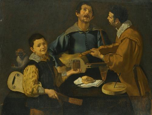 the concert by diego rodríguez de silva y velásquez