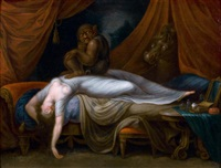 le cauchemar by henry fuseli