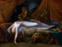 le cauchemar by henry fuseli