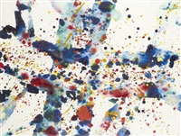 asian dyes n°2 by sam francis