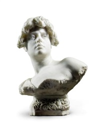 a bust of tullia by agustin querol subirats