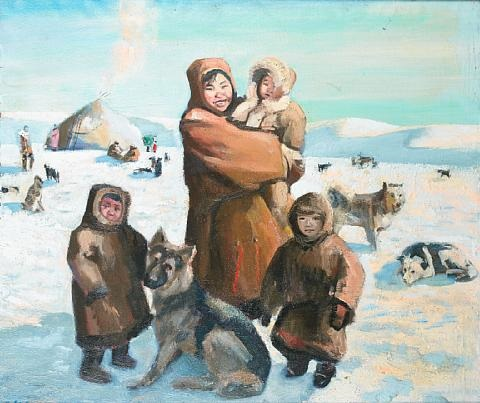 common happiness, chukotka by andrei yakovlev
