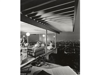 case study house no. 22, los angeles, pierre koenig, architect by julius shulman