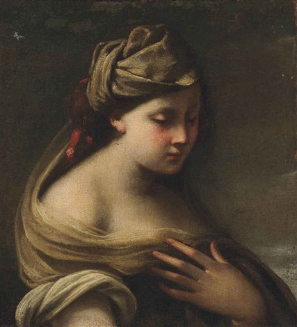 a muse by giuseppe maria crespi