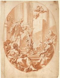 presentazione di maria al tempio by antonio consetti