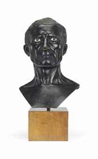 bust of the augustan julius caesar by (pier giacomo ilario bonacolsi) antico