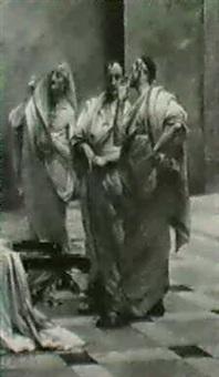 il senato romano by cesare maccari