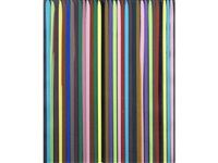 poured lines by ian davenport