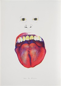 saca la lengua (from the peace portfolio) by marisol escobar