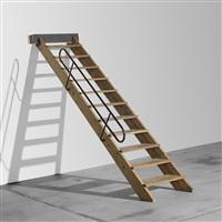 staircase for l'unité d'habitation, firminy by le corbusier