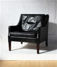 danish lounge chair by rud thygesen