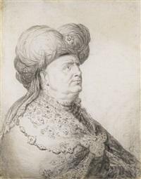 a tronie of an oriental gentleman by gerrit dou