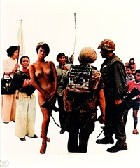 playboy - on view (from the bringing the war home: in vietname series) by martha rosler