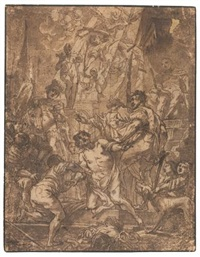 the martyrdom of st. george by cornelis schut the elder