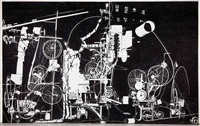 h.2.n.y. tinguely machine erases its own construction in 27 minutes by michael landy