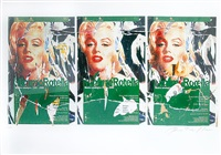 omaggio a marilyn by mimmo rotella