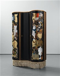 cabinet by gio ponti and piero fornasetti