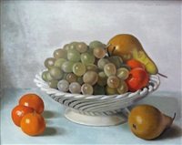 nature morte à la coupe de fruits by jacques blanchard